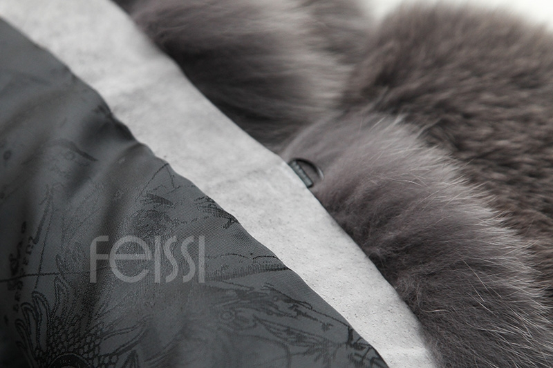 Fox Fur Coat 883b Details 24
