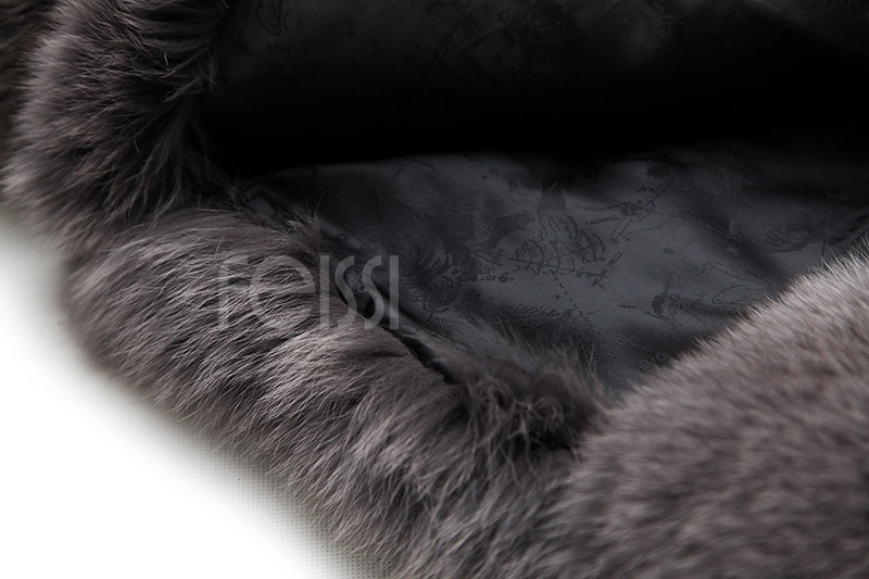 Fox Fur Coat 883b Details 26