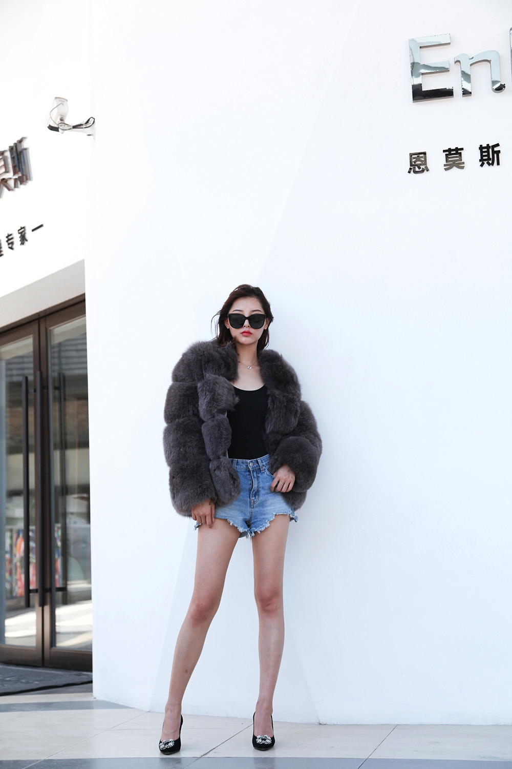 Fox Fur Coat 883b Details 3