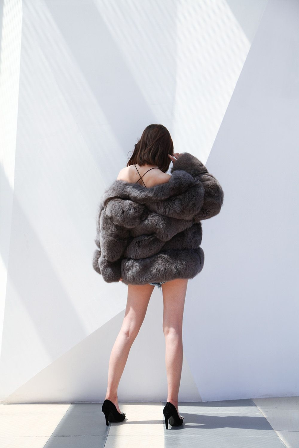 Fox Fur Coat 883b Details 4