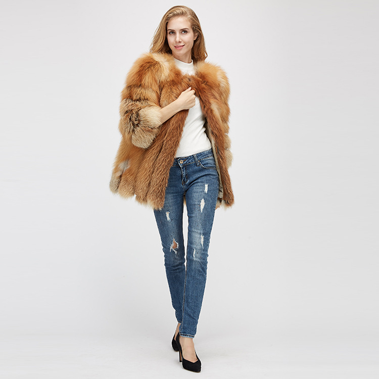Fox Fur Coat 967 Details 1
