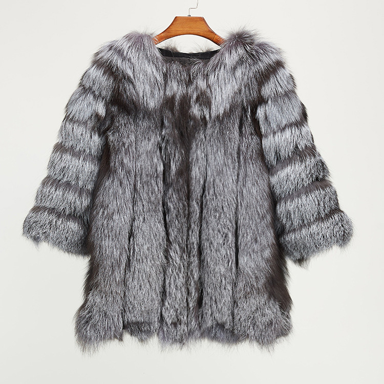 Fox Fur Coat 967 Details 15