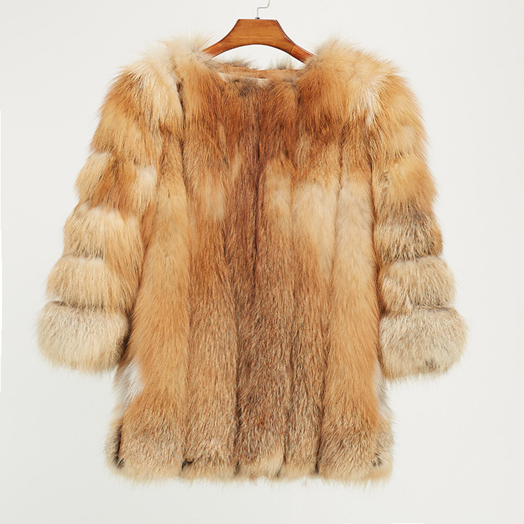 Fox Fur Coat 967 Details 16