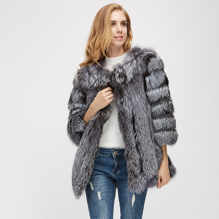 Fox Fur Coat 967 Details 9