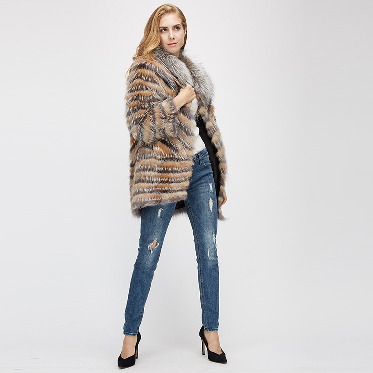 Fox Fur Jacket 969 Details 1