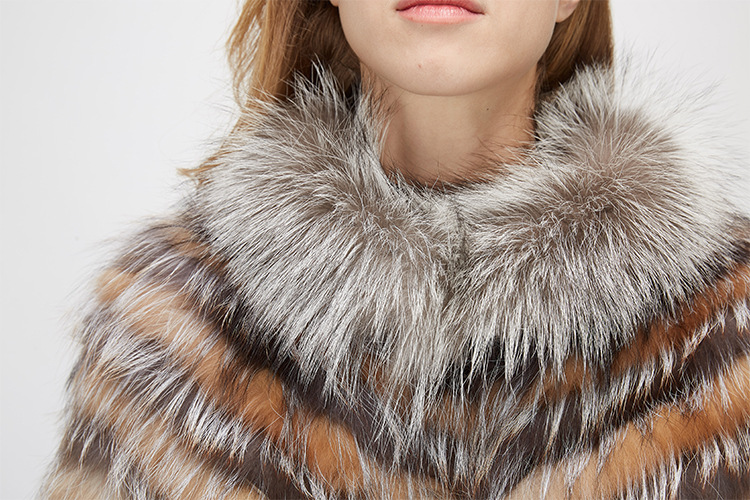 Fox Fur Jacket 969 Details 10