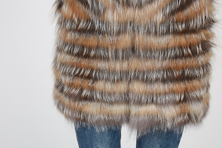Fox Fur Jacket 969 Details 12