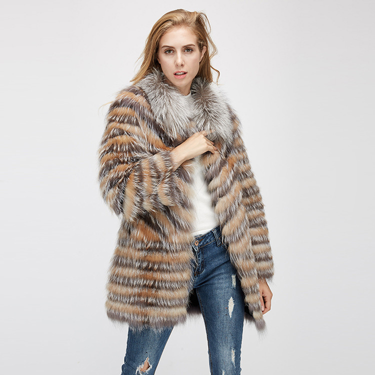 Fox Fur Jacket 969 Details 2