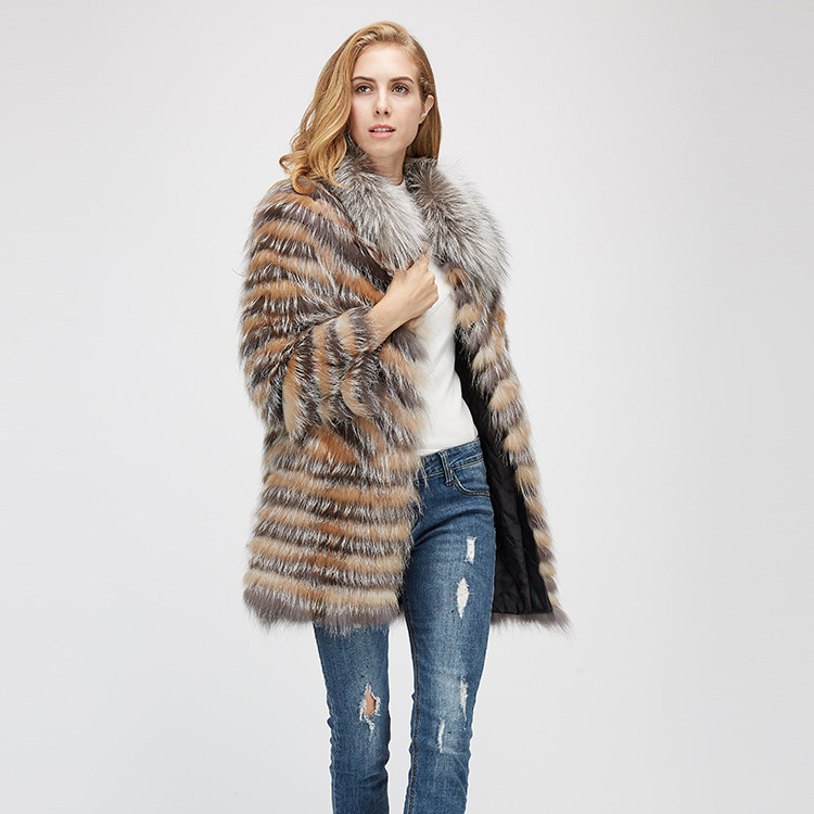 Fox Fur Jacket 969 Details 3