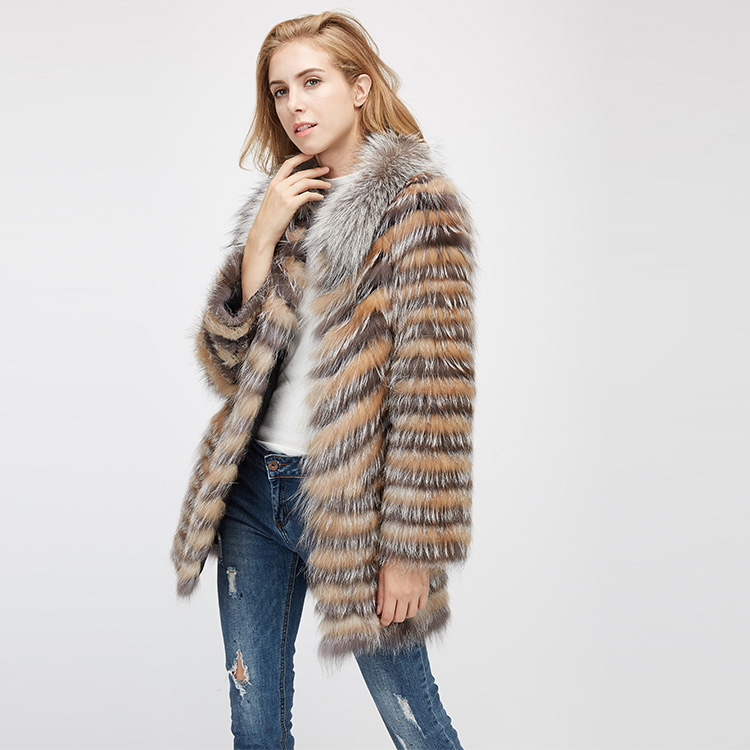 Fox Fur Jacket 969 Details 4