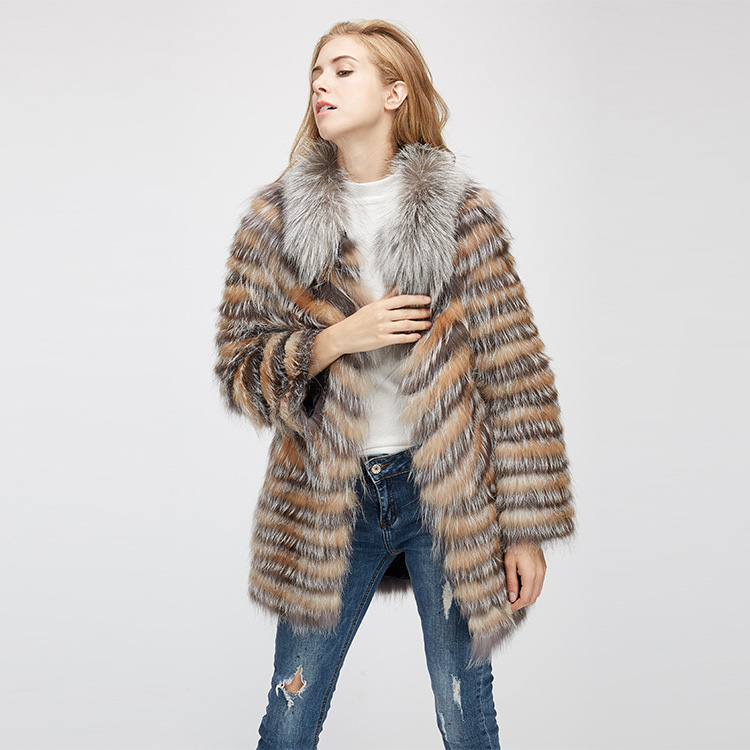 Fox Fur Jacket 969 Details 5