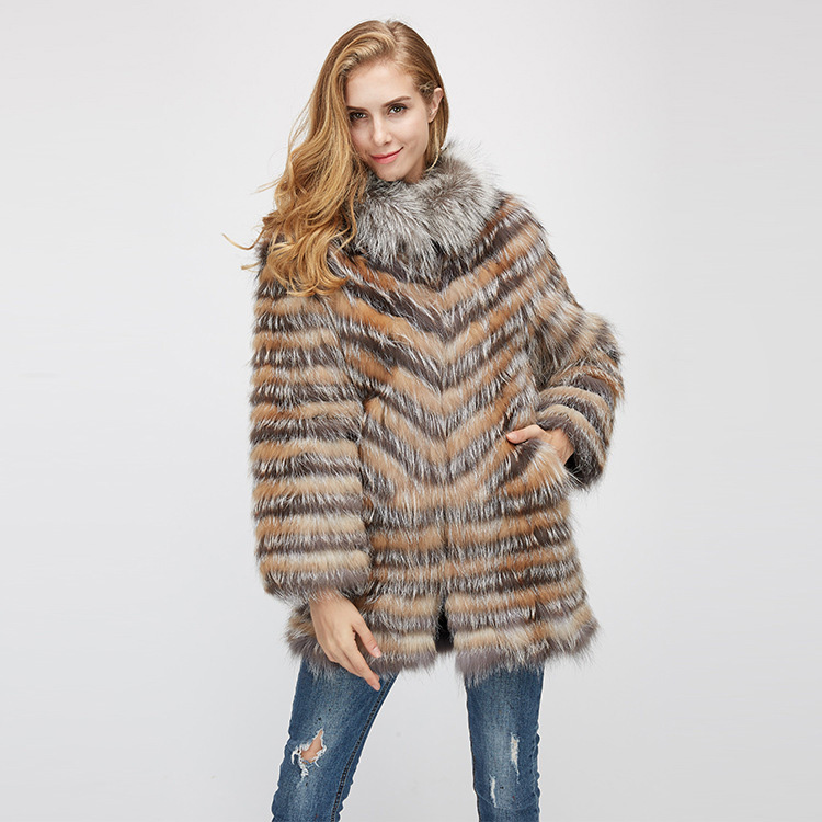 Fox Fur Jacket 969 Details 6