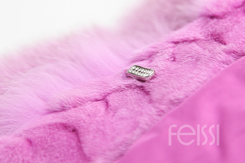 Fox Fur Jacket 986 details 20