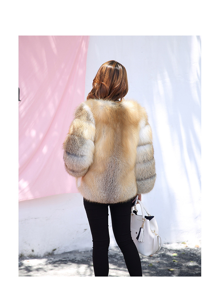 Golden Island Fox Fur 988 details 2