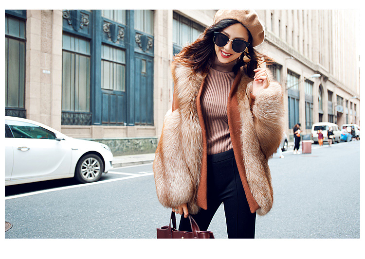 Fox Fur Coat 991 details 24