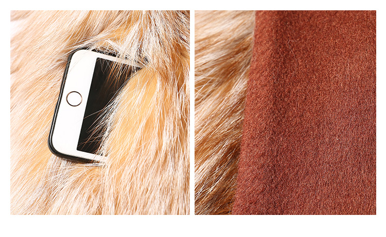 Fox Fur Coat 991 details 3
