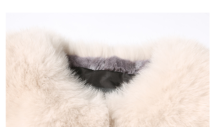 Cropped Fox Fur Jacket 999 Details 3