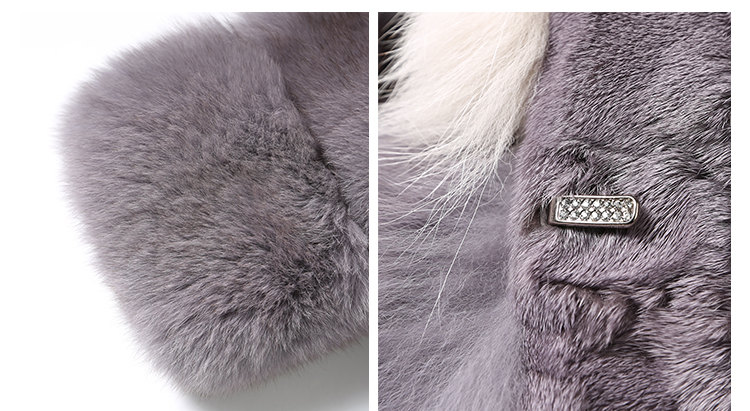 Cropped Fox Fur Jacket 999 Details 4
