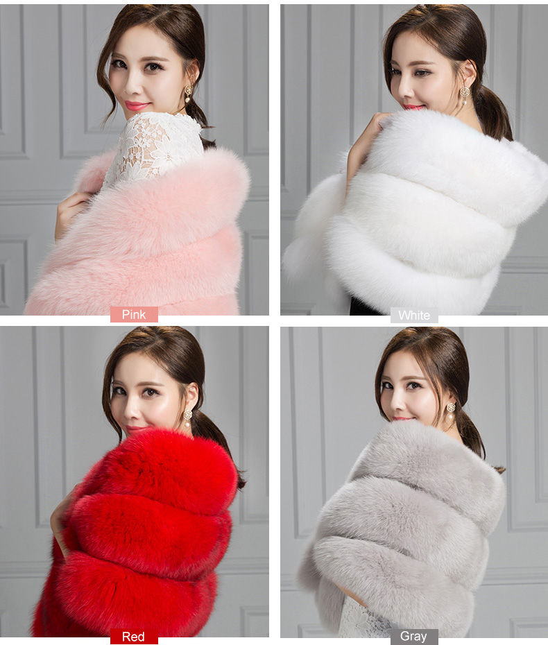 Fox Fur Cape 807 Details 1