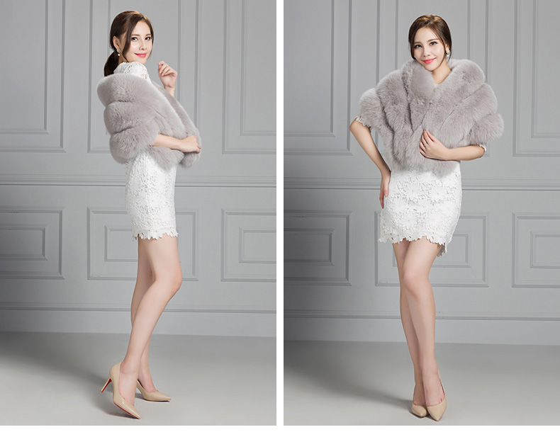 Fox Fur Cape 807 Details 2