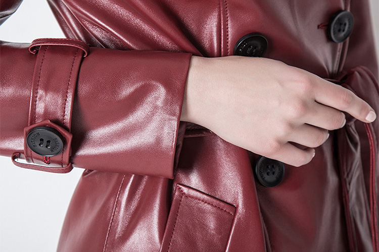 Sheep Leather Coat 797 Details 5