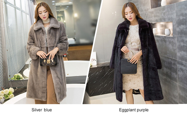 Mink Fur Coat 743 Details 1