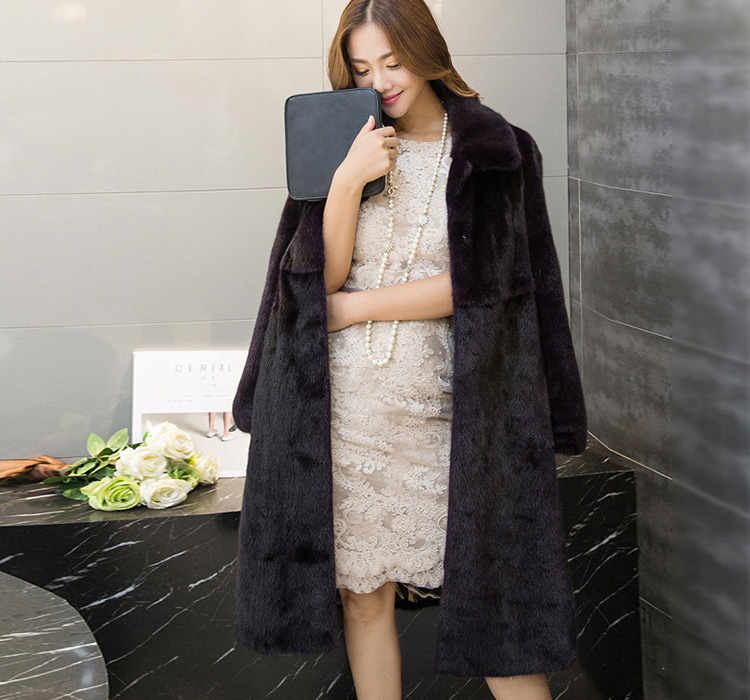 Mink Fur Coat 743 Details 2