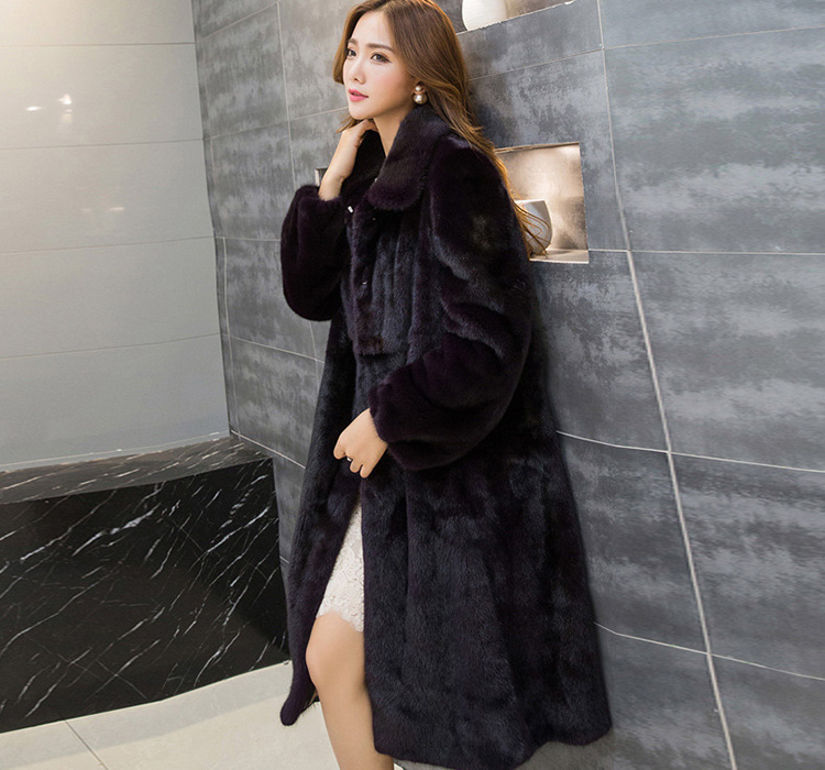 Mink Fur Coat 743 Details 3