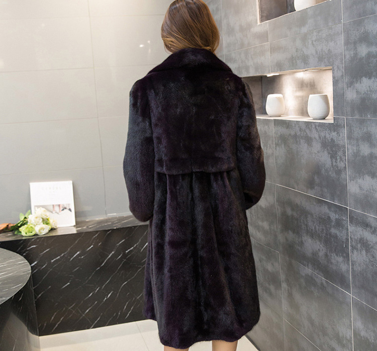 Mink Fur Coat 743 Details 5