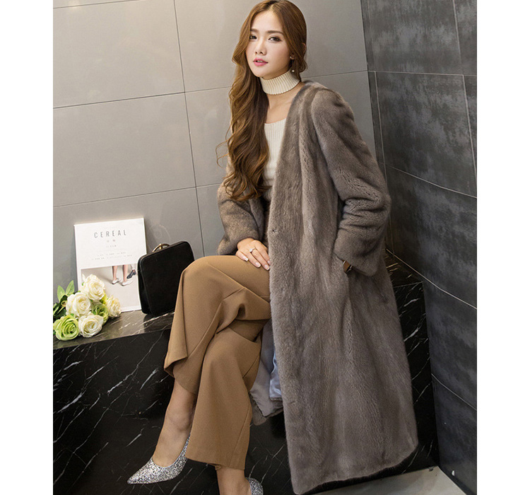 Mink Fur Coat 752 Details 2