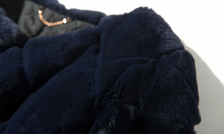 Rex Rabbit Fur Jacket 707 Detail 2