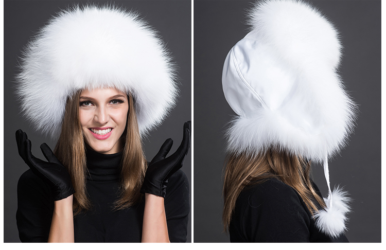 Fox Fur Trapper Hat 859 1 Details 1