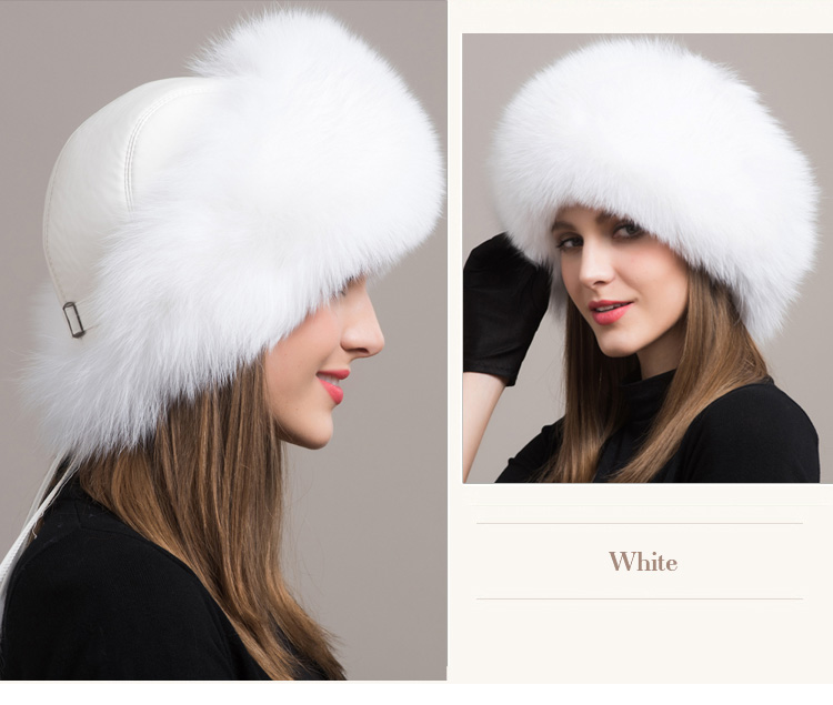 Fox Fur Hat 861 Details 1