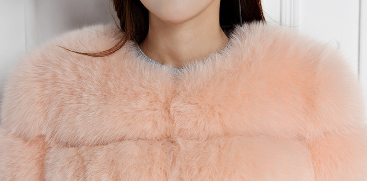 Cropped Fox Fur Jacket 793 Details 2