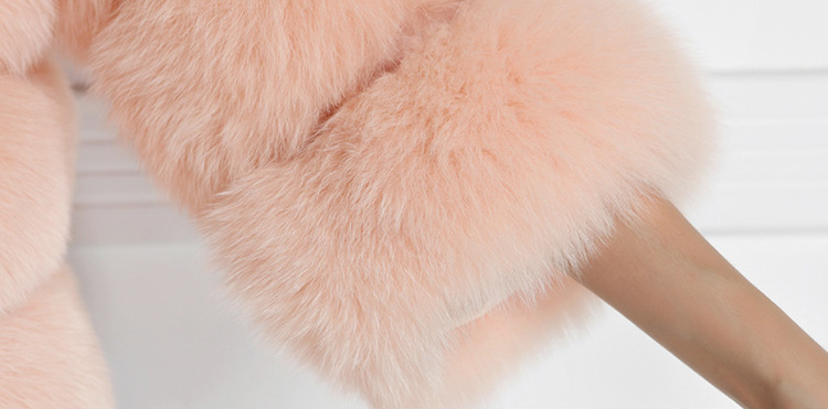 Cropped Fox Fur Jacket 793 Details 4