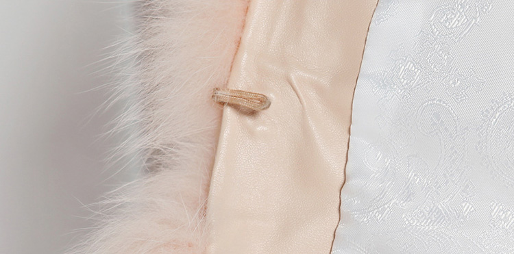 Cropped Fox Fur Jacket 793 Details 5