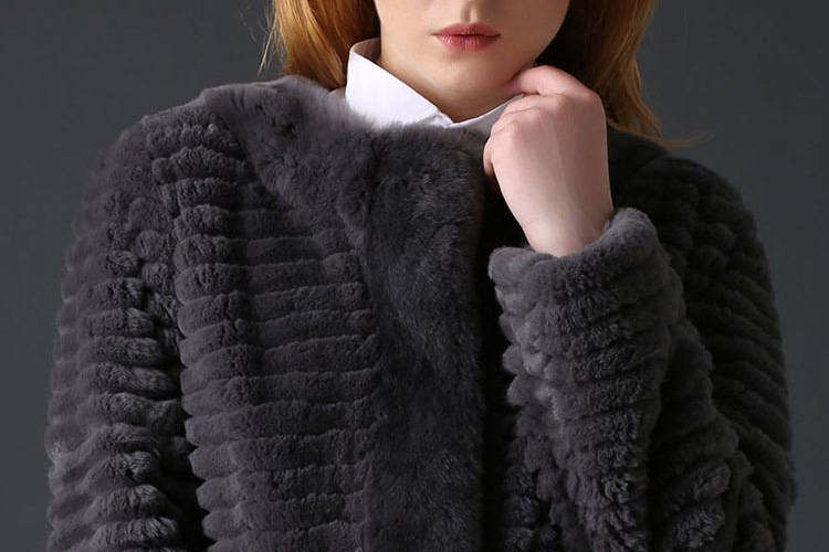 Rex Rabbit Fur Jacket 774 Details 1