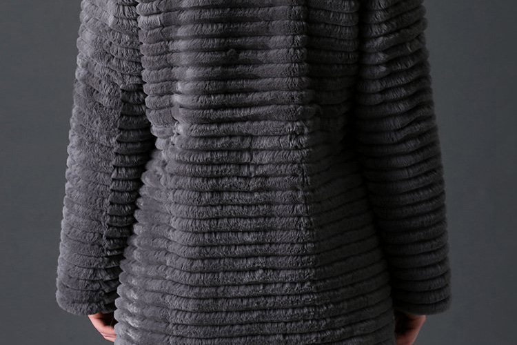 Rex Rabbit Fur Jacket 774 Details 4