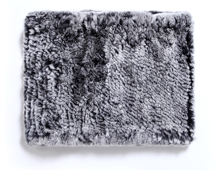 Knitted Rex Rabbit Fur Neck Warmer ffscarr09-Details_04