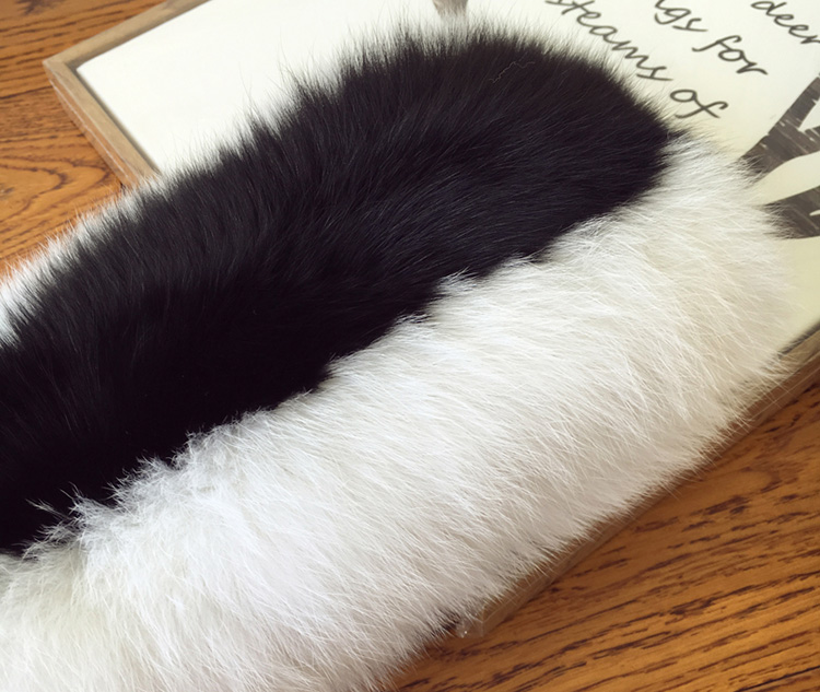 Fox Fur Scarf 866b