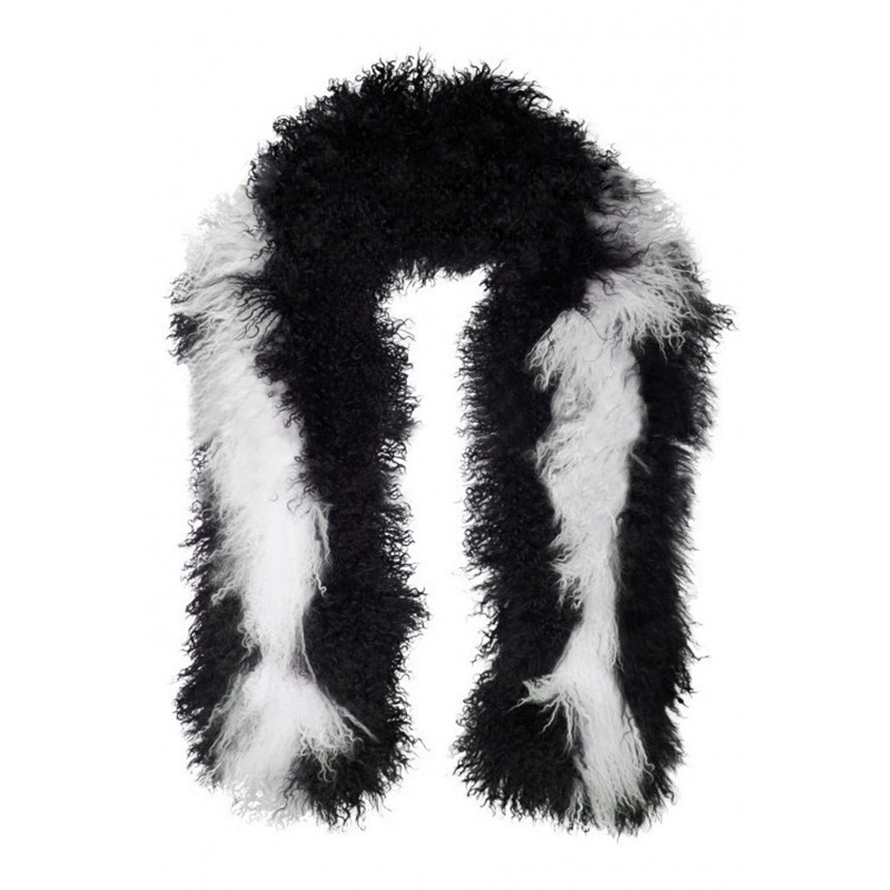 Tibet Sheep Fur Shawl 839 Details 0
