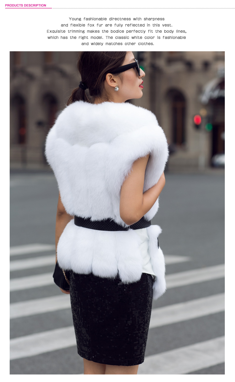 White fox fur vest coat 19_2