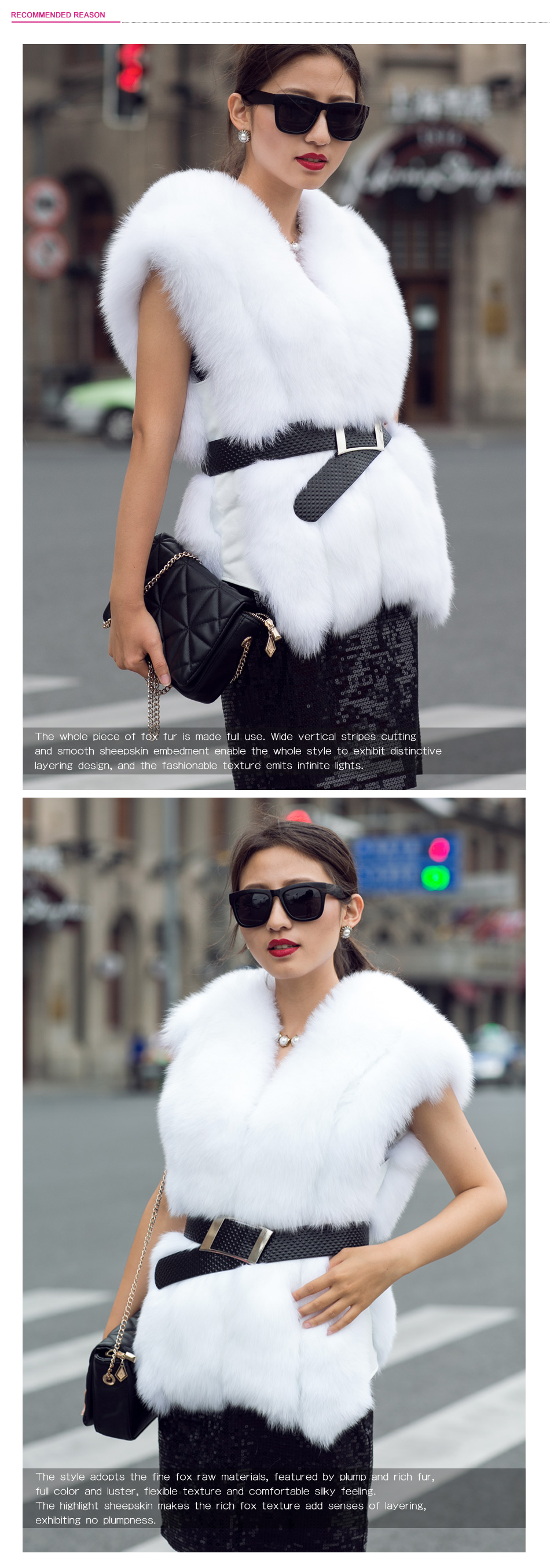 White fox fur vest coat 19_3
