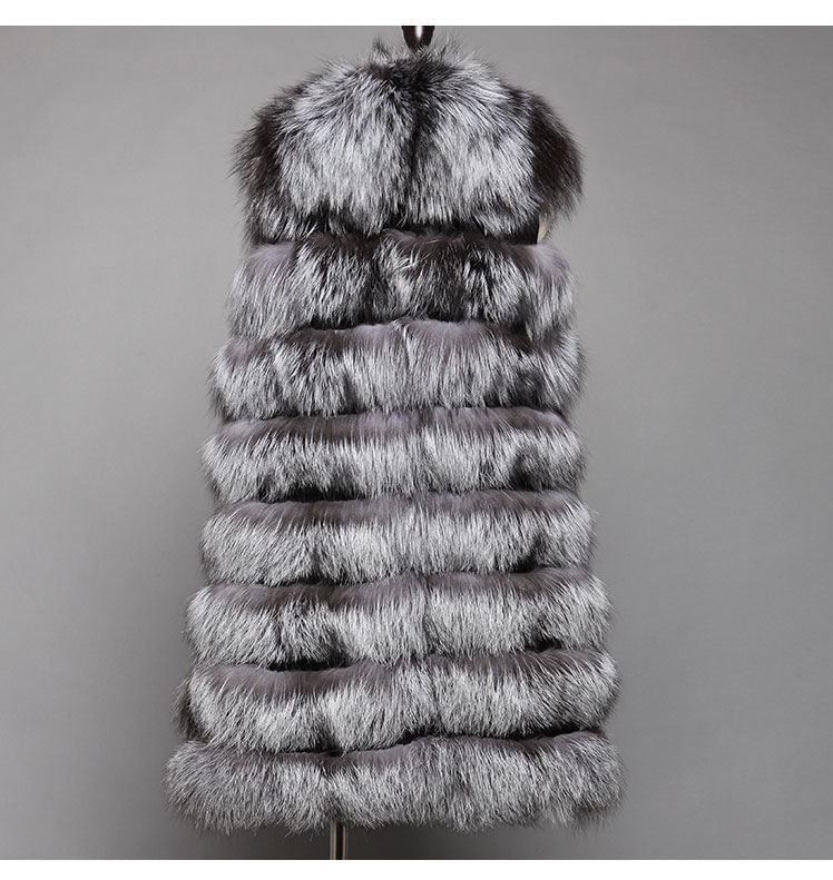 Women's Fox Fur Vest  631_07